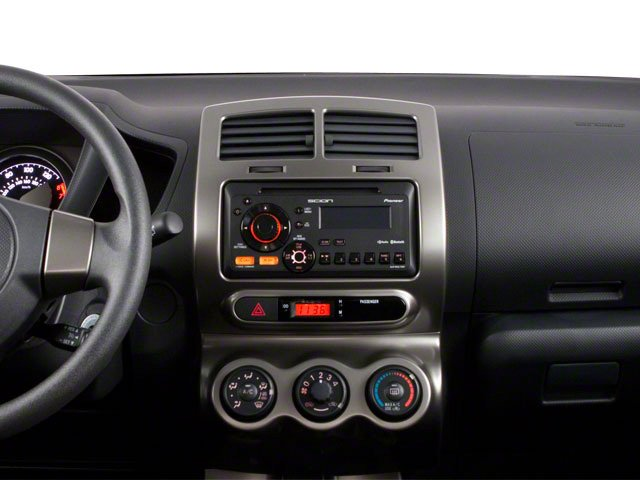 2012 Scion xD Prices and Values Hatchback 5D center dashboard