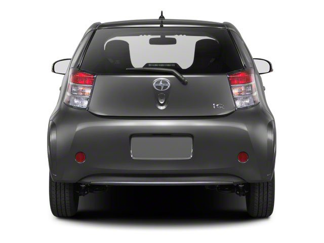 2012 Scion iQ Prices and Values Hatchback 3D rear view