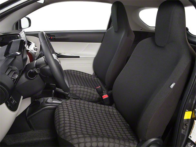 2012 Scion iQ Prices and Values Hatchback 3D front seat interior