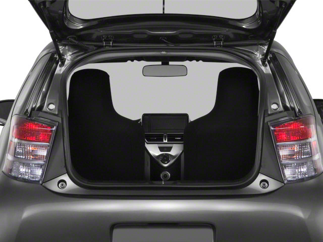 2012 Scion iQ Prices and Values Hatchback 3D open trunk