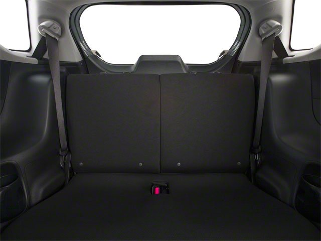 2012 Scion iQ Prices and Values Hatchback 3D backseat interior