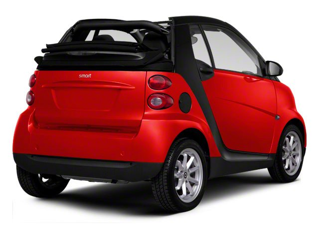 2012 smart fortwo Prices and Values Convertible 2D Passion side rear view