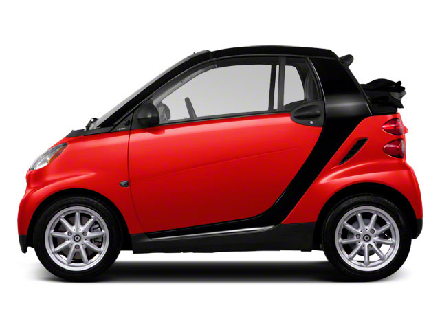 2012 smart fortwo Prices and Values Convertible 2D Passion side view