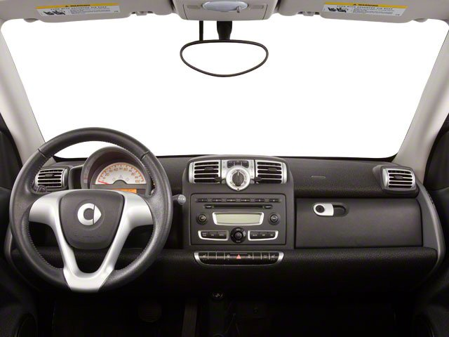 2012 smart fortwo Prices and Values Convertible 2D Passion full dashboard