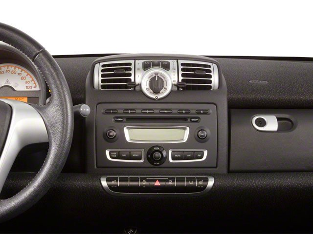 2012 smart fortwo Prices and Values Convertible 2D Passion center dashboard