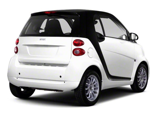2012 smart fortwo Prices and Values Coupe 2D Pure side rear view