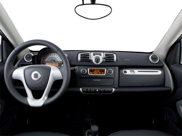 2012 smart fortwo Prices and Values Coupe 2D Pure full dashboard