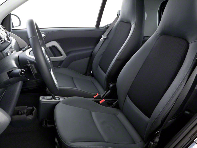2012 smart fortwo Prices and Values Coupe 2D Pure front seat interior