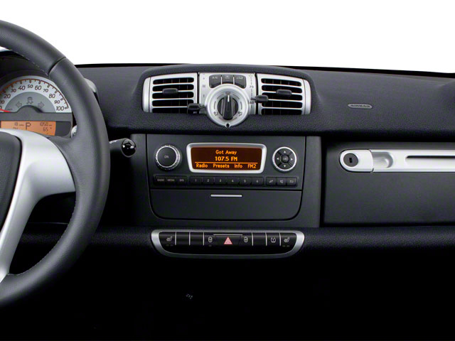 2012 smart fortwo Prices and Values Coupe 2D Pure center dashboard