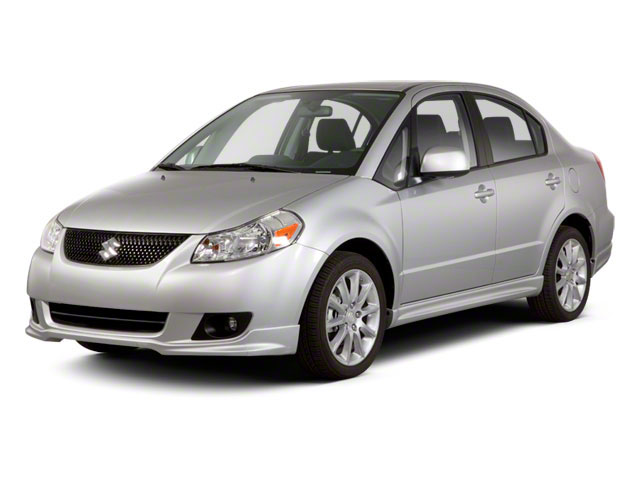 2012 Suzuki SX4 Prices and Values Sedan 4D Sport SE side front view