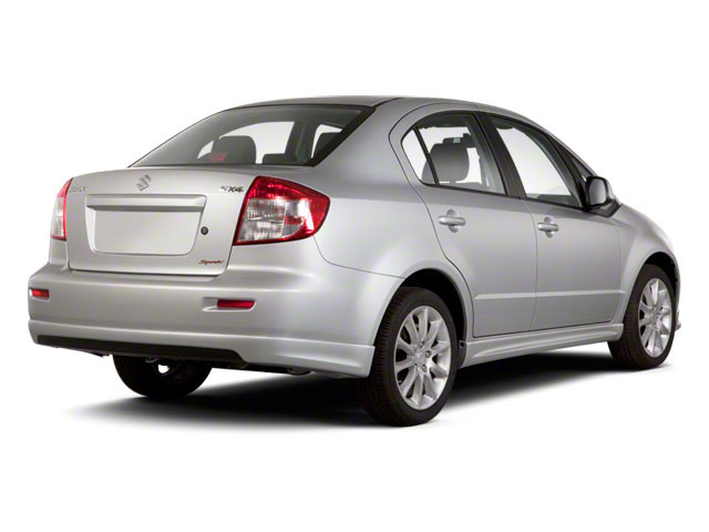 2012 Suzuki SX4 Prices and Values Sedan 4D Sport SE side rear view