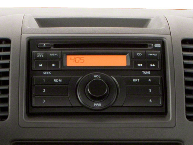 2012 Suzuki Equator Prices and Values Extended Cab Sport 4WD stereo system