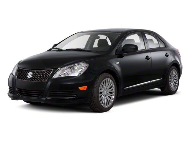 2012 Suzuki Kizashi Prices and Values Sedan 4D SLS side front view