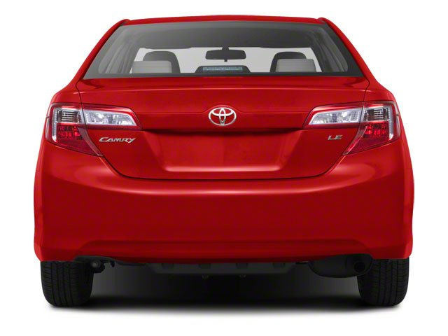 2012 Toyota Camry Prices and Values Sedan 4D SE rear view