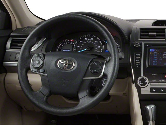 2012 Toyota Camry Prices and Values Sedan 4D SE driver's dashboard
