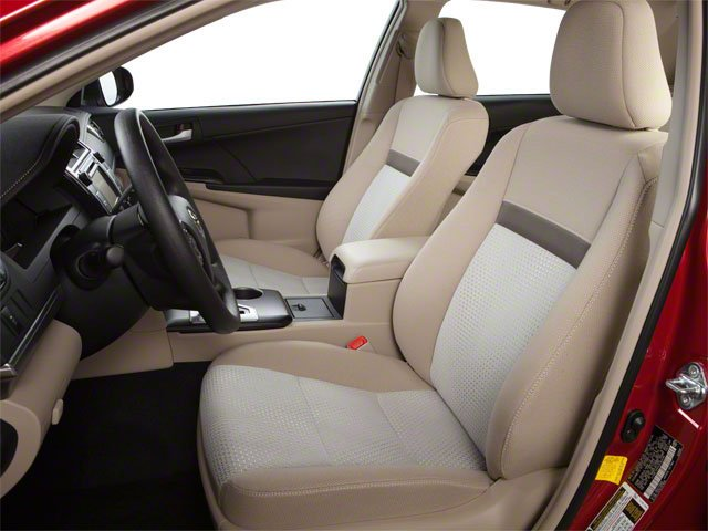 2012 Toyota Camry Prices and Values Sedan 4D SE front seat interior