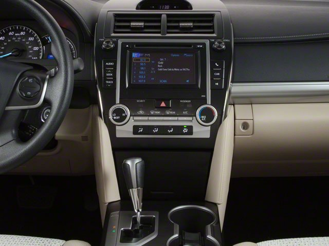 2012 Toyota Camry Prices and Values Sedan 4D SE center console