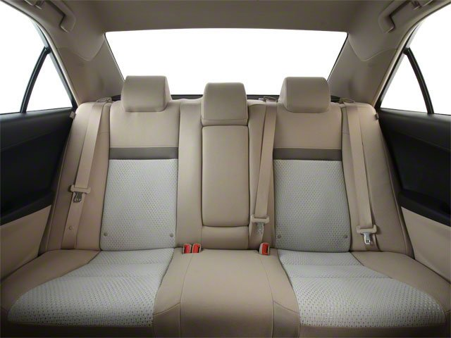 2012 Toyota Camry Prices and Values Sedan 4D SE backseat interior