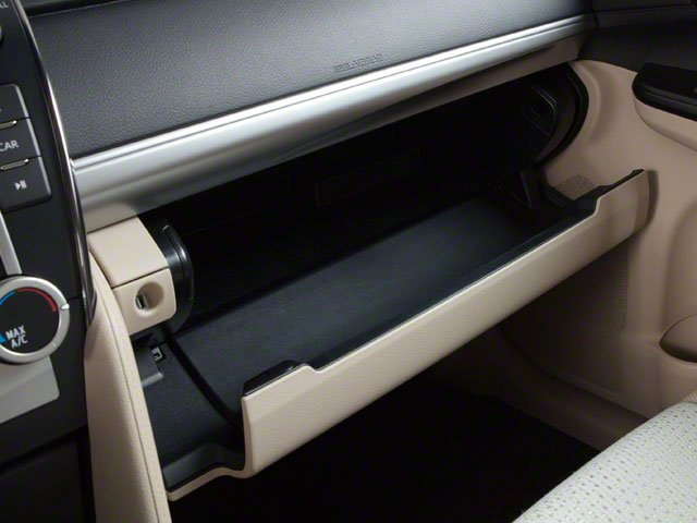 2012 Toyota Camry Prices and Values Sedan 4D SE glove box