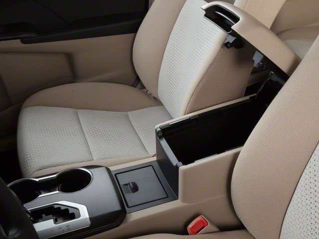 2012 Toyota Camry Prices and Values Sedan 4D SE center storage console