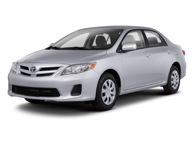 2012 Toyota Corolla Pictures Corolla Sedan 4D S photos side front view
