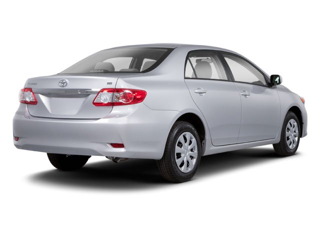 2012 Toyota Corolla Pictures Corolla Sedan 4D S photos side rear view