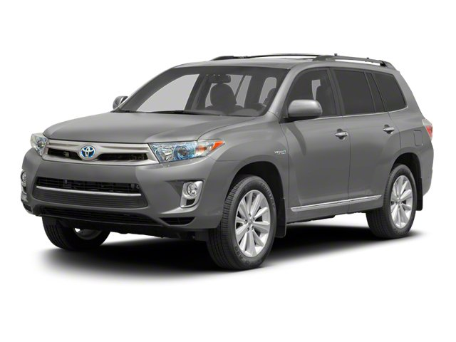 2012 Toyota Highlander Hybrid Prices and Values Utility 4D Hybrid Limited 4WD