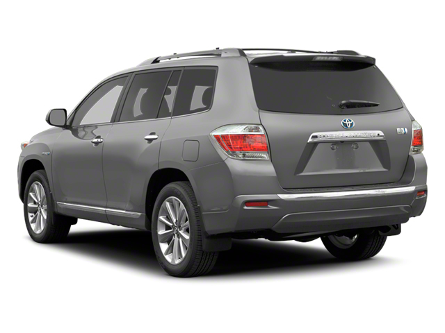2012 Toyota Highlander Hybrid Prices and Values Utility 4D Hybrid Limited 4WD side rear view