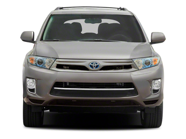 2012 Toyota Highlander Hybrid Prices and Values Utility 4D Hybrid Limited 4WD front view