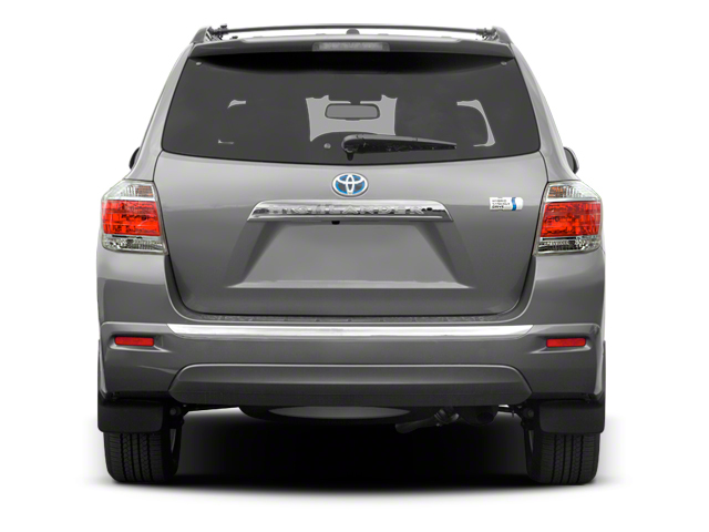 2012 Toyota Highlander Hybrid Prices and Values Utility 4D Hybrid Limited 4WD rear view