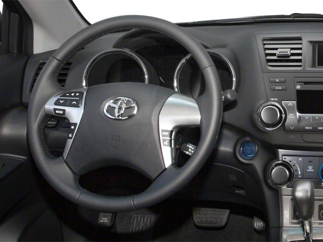 2012 Toyota Highlander Hybrid Prices and Values Utility 4D Hybrid Limited 4WD driver's dashboard