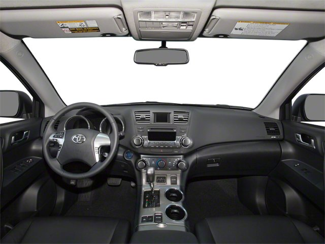 2012 Toyota Highlander Hybrid Prices and Values Utility 4D Hybrid Limited 4WD full dashboard