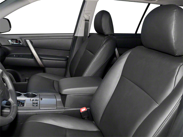 2012 Toyota Highlander Hybrid Prices and Values Utility 4D Hybrid Limited 4WD front seat interior