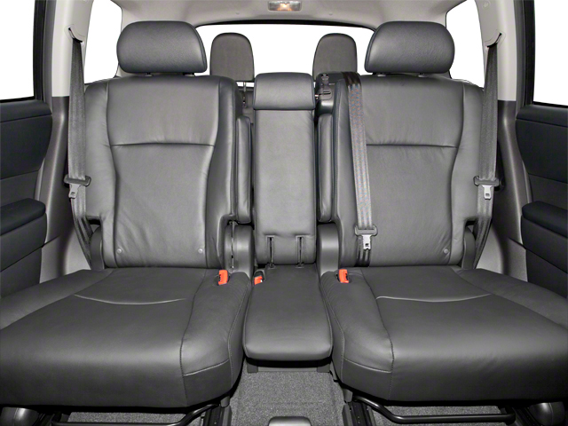 2012 Toyota Highlander Hybrid Prices and Values Utility 4D Hybrid Limited 4WD backseat interior