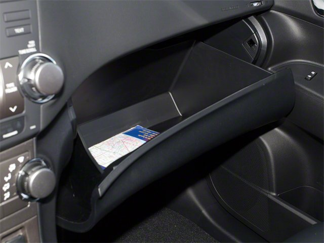2012 Toyota Highlander Hybrid Prices and Values Utility 4D Hybrid Limited 4WD glove box