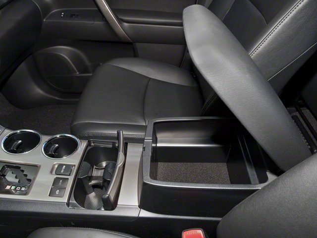 2012 Toyota Highlander Hybrid Prices and Values Utility 4D Hybrid Limited 4WD center storage console
