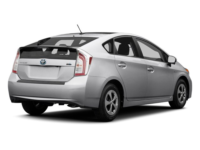 2012 Toyota Prius Prices and Values Liftback 5D side rear view