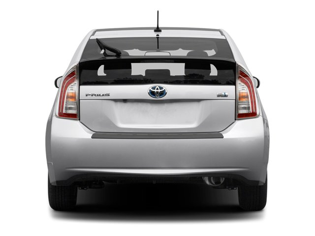 2012 Toyota Prius Prices and Values Liftback 5D rear view