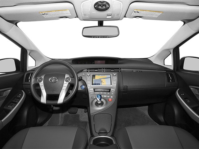 2012 Toyota Prius Prices and Values Liftback 5D full dashboard