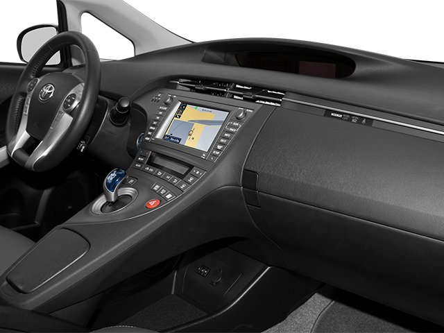 2012 Toyota Prius Prices and Values Liftback 5D passenger's dashboard