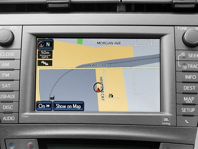 2012 Toyota Prius Prices and Values Liftback 5D navigation system