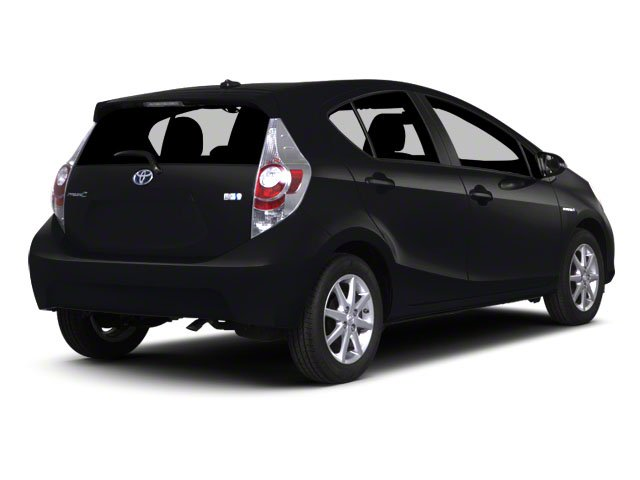 2012 Toyota Prius c Prices and Values Liftback 5D c Two I4 Hybrid side rear view