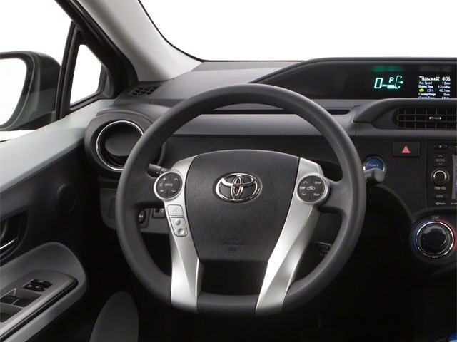 2012 Toyota Prius c Prices and Values Liftback 5D c Two I4 Hybrid driver's dashboard