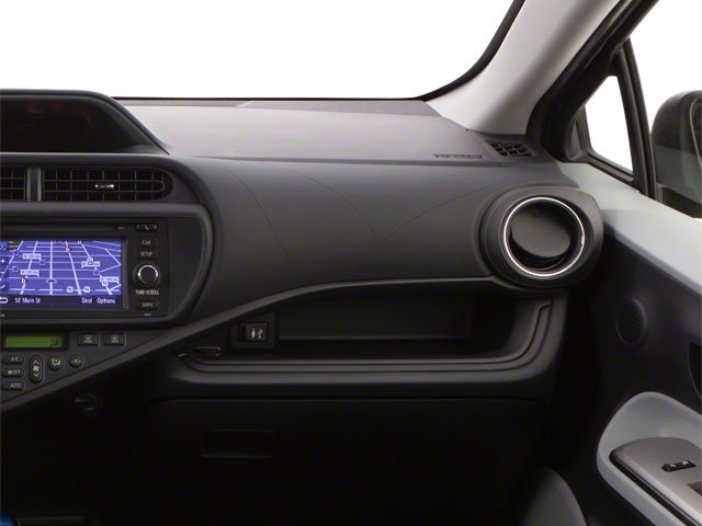 2012 Toyota Prius c Prices and Values Liftback 5D c Two I4 Hybrid passenger's dashboard