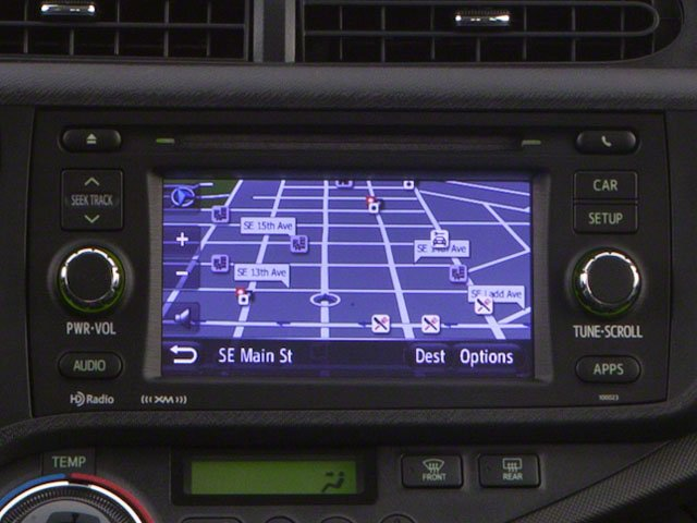 2012 Toyota Prius c Prices and Values Liftback 5D c Two I4 Hybrid navigation system