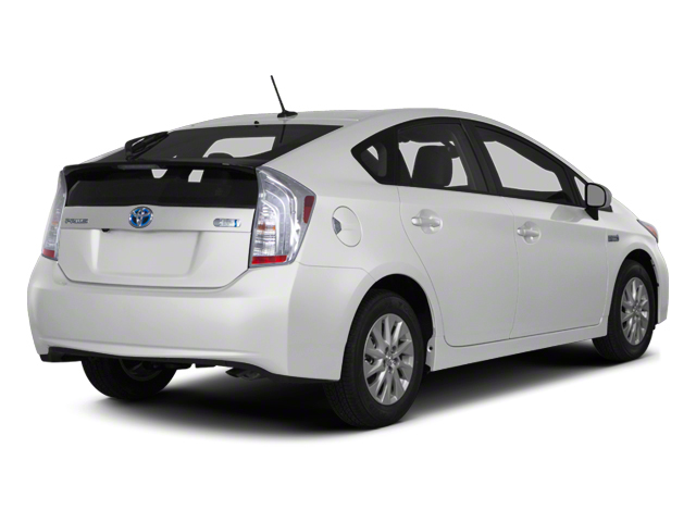 2012 Toyota Prius Plug-In Prices and Values Liftback 5D Plug-In Advanced Hybrid side rear view