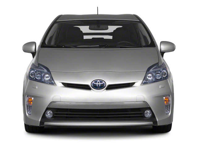2012 Toyota Prius Plug-In Prices and Values Liftback 5D Plug-In Advanced Hybrid front view