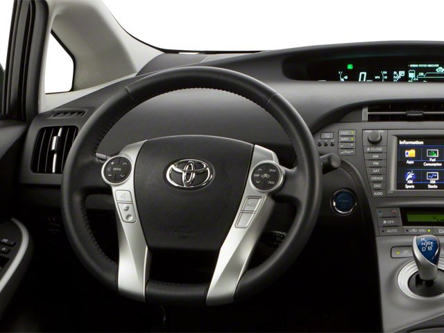2012 Toyota Prius Plug-In Prices and Values Liftback 5D Plug-In Advanced Hybrid driver's dashboard