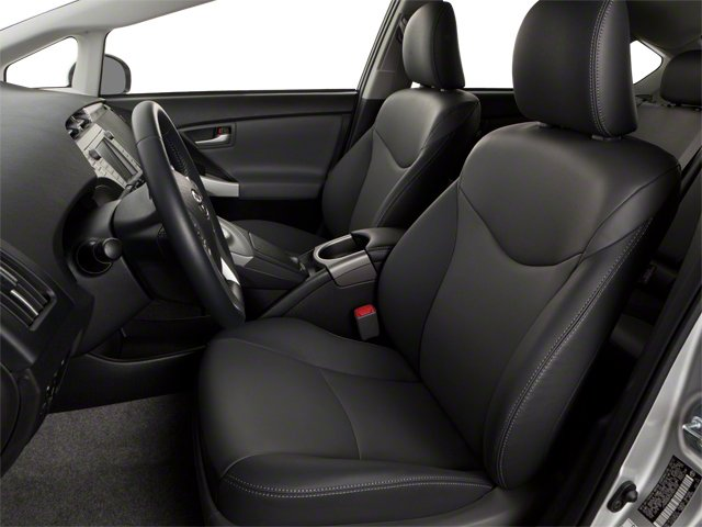 2012 Toyota Prius Plug-In Prices and Values Liftback 5D Plug-In Advanced Hybrid front seat interior