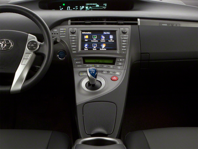 2012 Toyota Prius Plug-In Prices and Values Liftback 5D Plug-In Advanced Hybrid center console